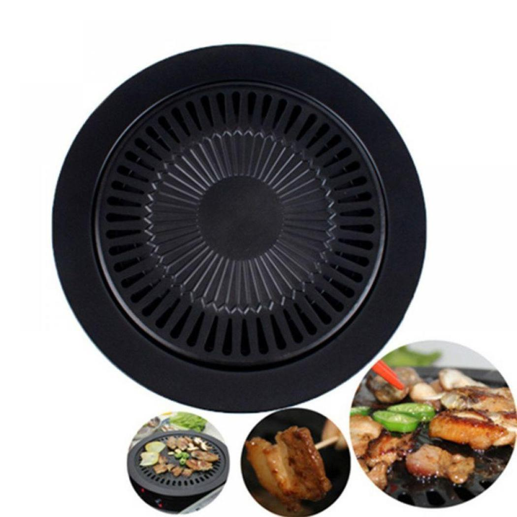 Smokeless Barbecue Grill Pan