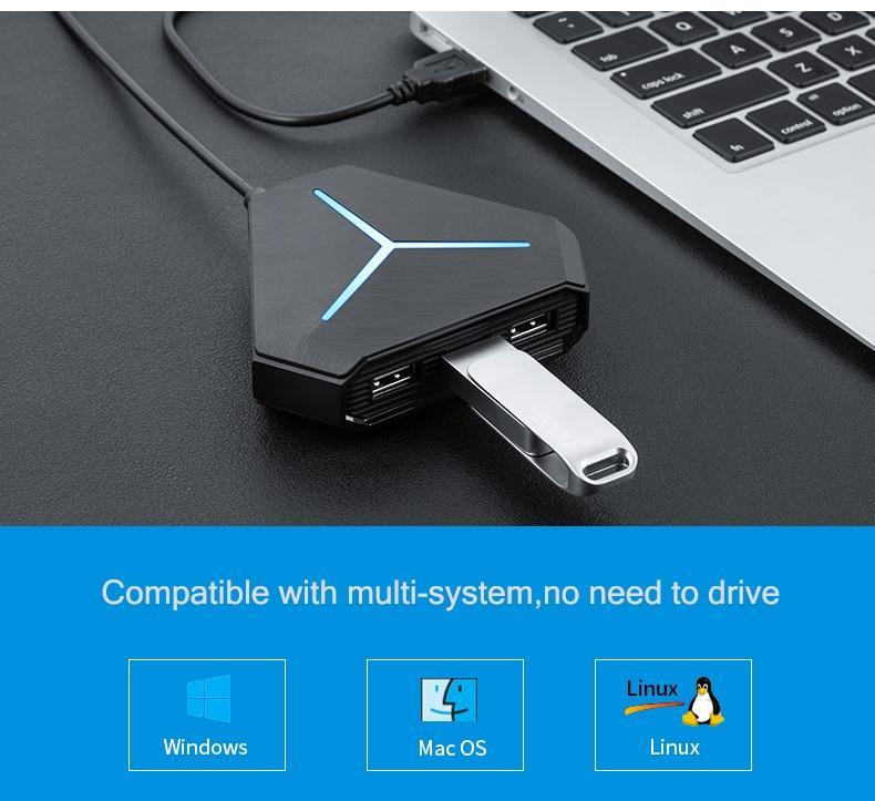 High Speed USB Port  Hub