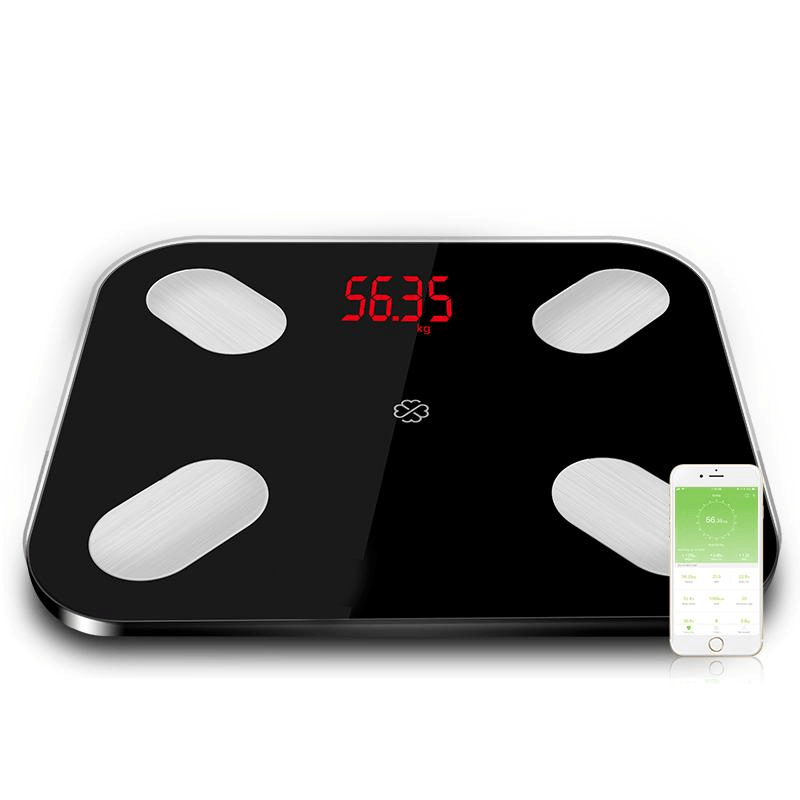 Smart digital bathroom body weight scale