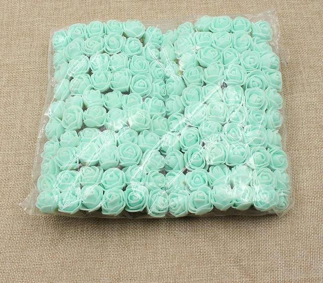 Artificial Small Rose Flower Head (144Pcs)