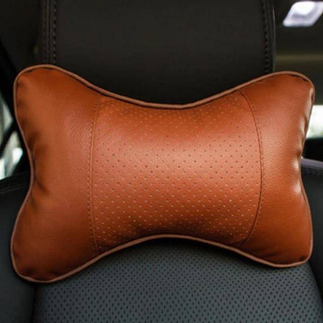 Car Safety Headrest Pillow Set