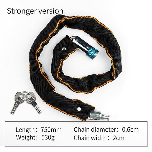 Anti-Theft Bike Chain Lock