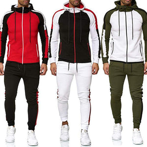 Men's 2-piece hooded sweatshirt sportswear