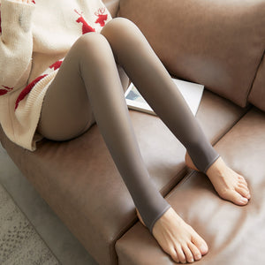 Flawless Legs Fake Translucent Warm Fleece Pantyhose
