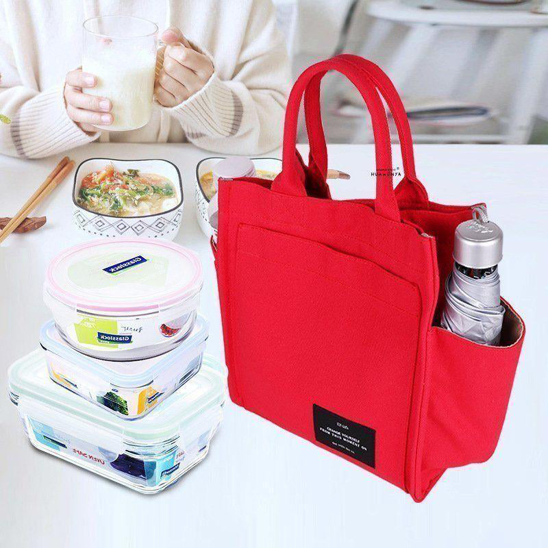 【Multi-purpose Handbag】Cotton matting canvas, skin-friendly and comfortable
