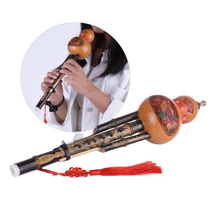 Cucurbit Flute Ethnic Musical Instrument Key of C