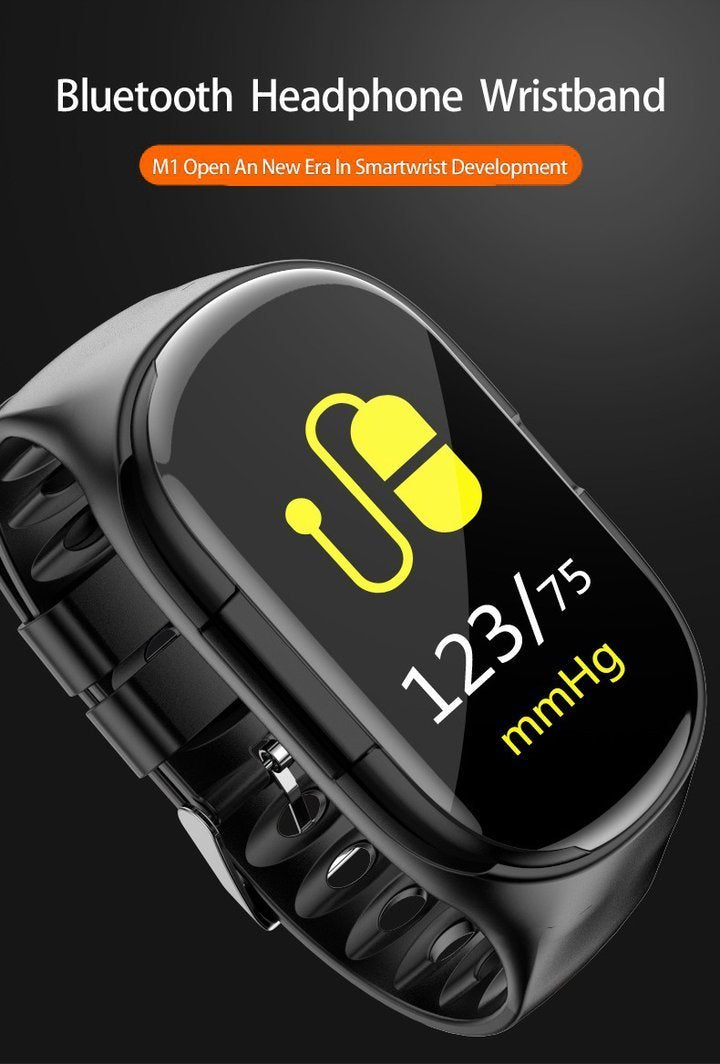 【Save $140&Free shipping】2 in 1 Smart Watch With Bluetooth Earphones