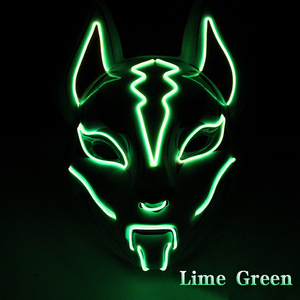 Fox Full Face Neon Mask--Order 2 Free Shipping