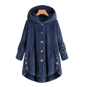 2019 Fashion Plus Size Women Loose Warm Outwear Coat