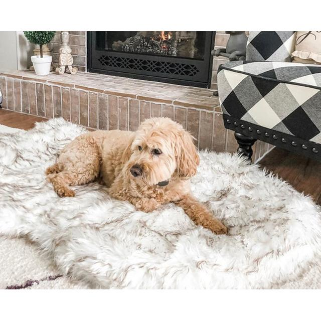 Orthopedic pet rug