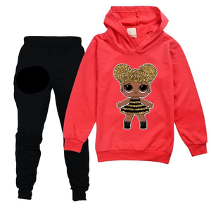 Hoodie and pants set for children!