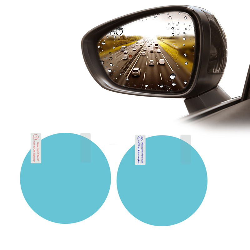 2PCS  Car Rearview Mirror Protective Film