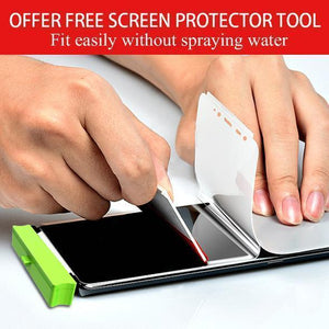 Full Coverage Hydrogel Film Screen Protector For Samsung