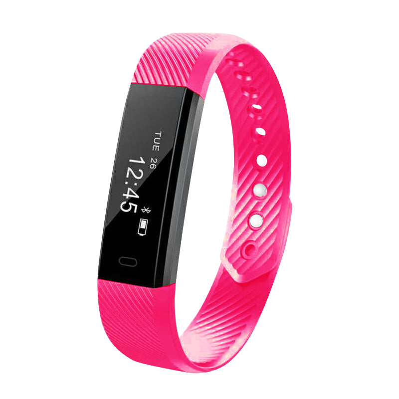 Heart rate monitoring waterproof sports smart bracelet