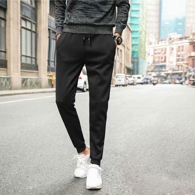 Velvet Winter  Thickening Warm Men's Sport Pant