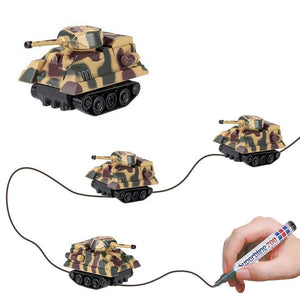 Magic Pen Inductive Tank Toy