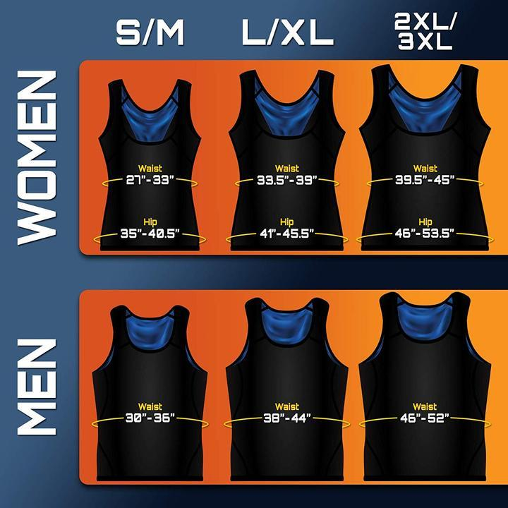 Premium Workout Tank Top Polymer Shapewear Sauna Vest For Weight Loss