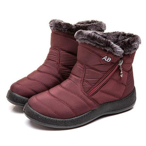 Ankle Boots For Women Boots Fur Warm Snow Boots