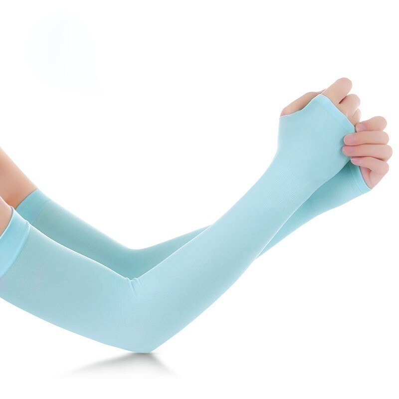 Ice Fabric Arm Sleeves UV Protection Summer