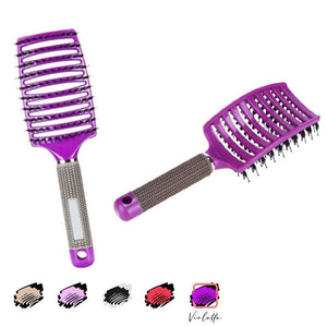 Massage comb curly hair styling comb