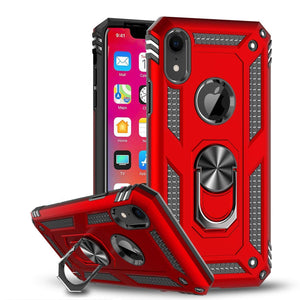 2021 Luxury Armor Ring Bracket Phone Case For iPhone XR-Fast Delivery