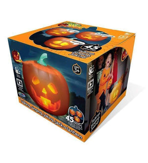 Halloween Talking Pumpkin with Built-In Projector & Speaker
