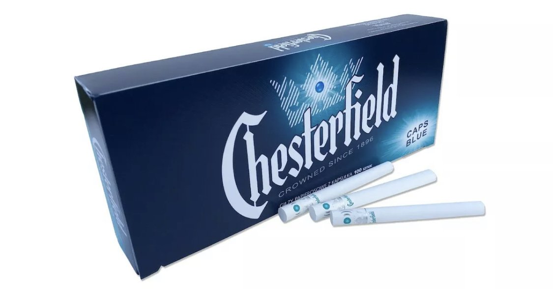 Chesterfield Blue Ice - [product type] - [SmokersEmpoium.ca]