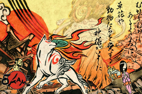 japanese culture okami mask-american wolves