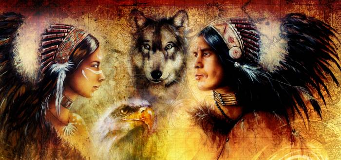 wolf ring native american culture-american wolves
