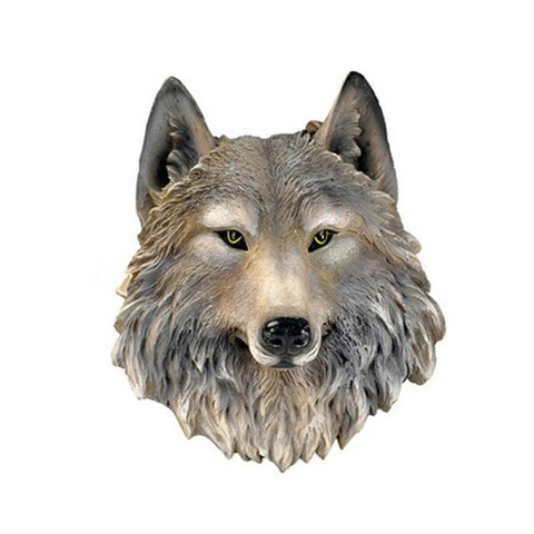 3D Wolf Head Wall Art - American Wolves
