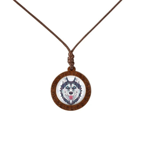 Dreamy Wolf Necklace - American Wolves