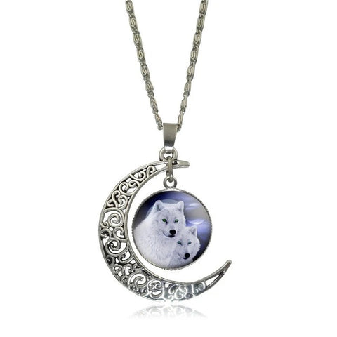 Family Wolf Necklace - American Wolves