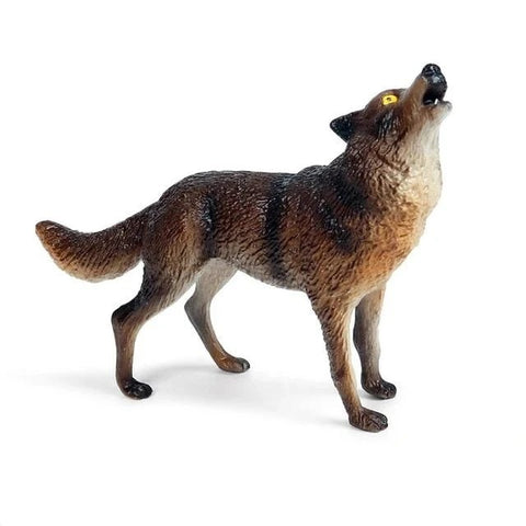 Golden Eyes Wolf Figurine - American Wolves
