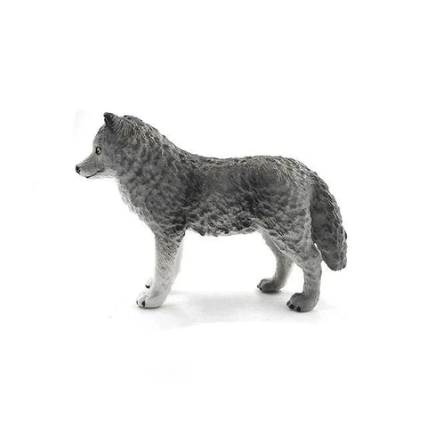 Gray Wolf Figurine - American Wolves