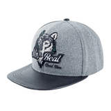 Mr Red Snapback Wolf Hat - American Wolves