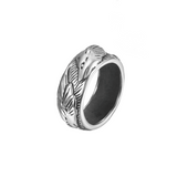 Silver Elite Wolf Ring - American Wolves