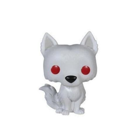 White Pop Wolf Figurine - American Wolves