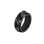 Black Elite Wolf Ring - American Wolves