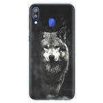 Black & White Lone Wolf Phone Case - American Wolves