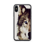 Blue Eyes Wolf Phone Case - American Wolves