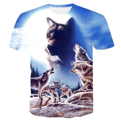 Father Wolf T-Shirt - American Wolves