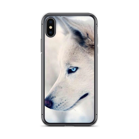 Great White Wolf Phone Case - American Wolves