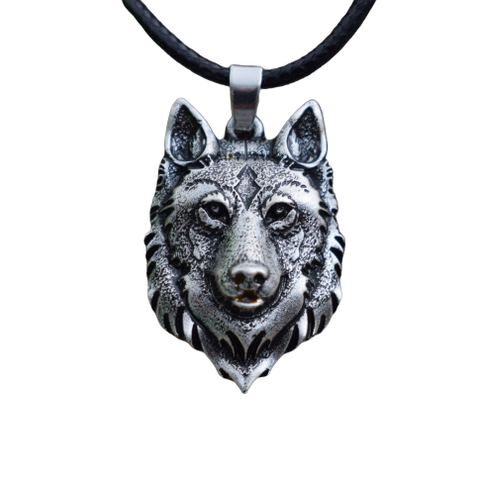 Wise Wolf Necklace - American Wolves