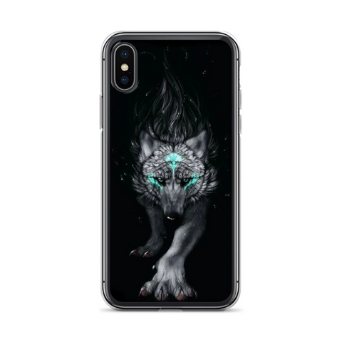 The Hunting Wolf Phone Case - American Wolves