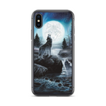 Lunar Ceremony Wolf Phone Case - American Wolves