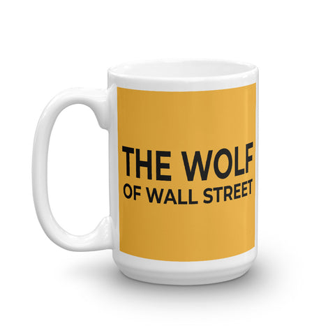 Wolf of Wall Street Mug - American Wolves