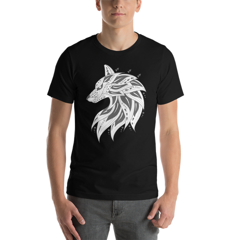 Tribal Wolf T-Shirt - American Wolves