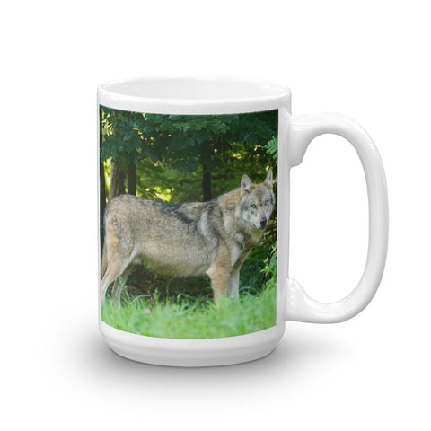 Brown Wolf Mug - American Wolves
