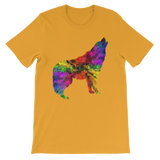 Multicolor Vector Wolf T-Shirt - American Wolves