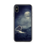 Moon Guardian Wolf Phone Case - American Wolves